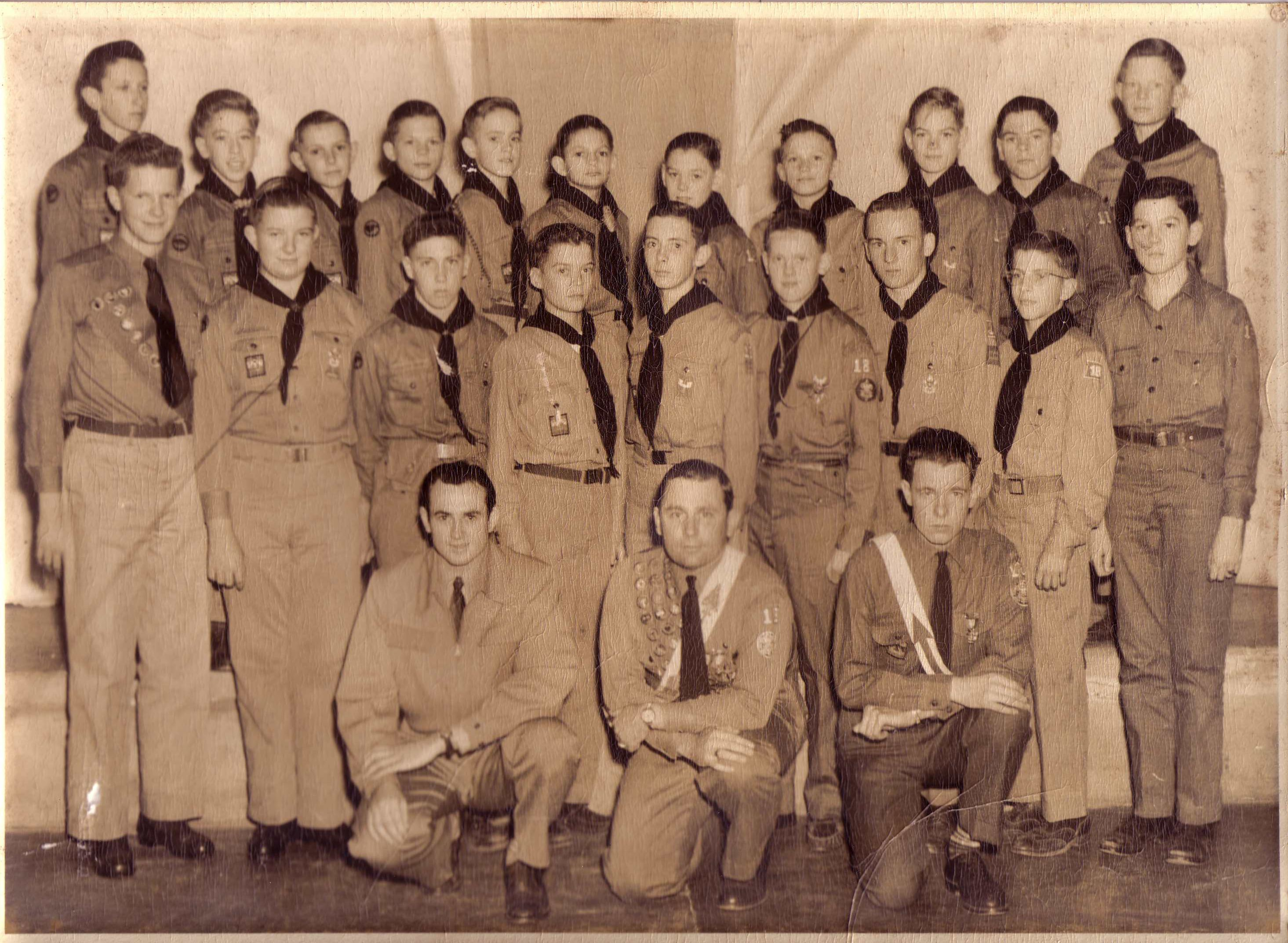 Troop 818 in 1947