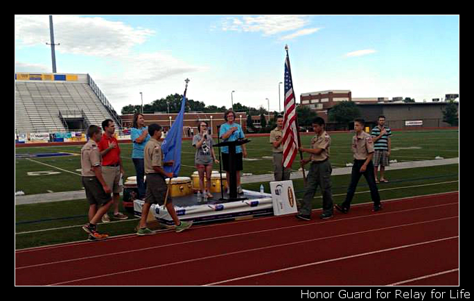 Stillwater Relay for Life Honor Guard